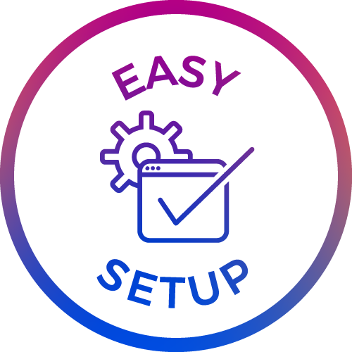 standalone easy setup icon