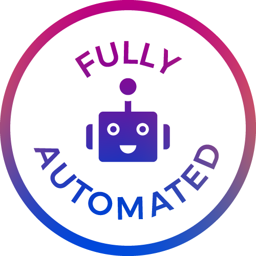 fully automated icon