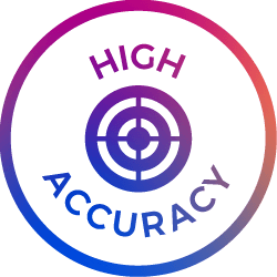 high accuracy icon