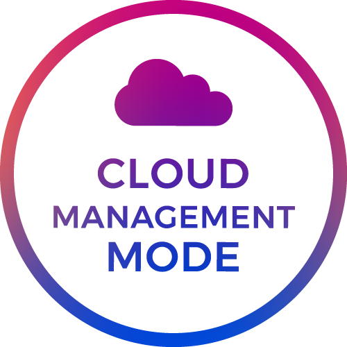 cloud management mode