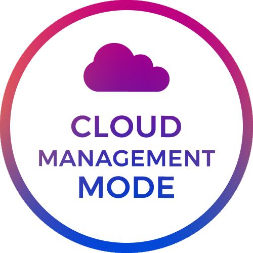 cloud management mode