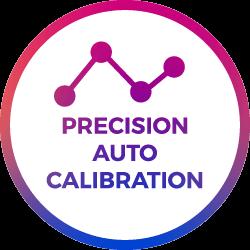 precision calibration points icon