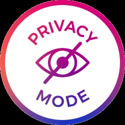 privacy mode icon