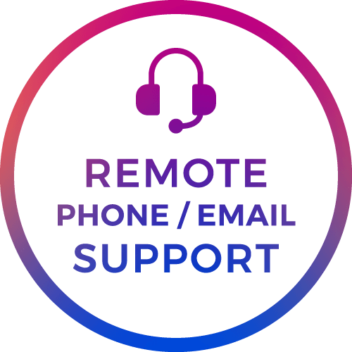 phone email support