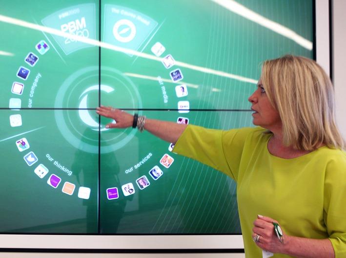 Interactive Video Walls