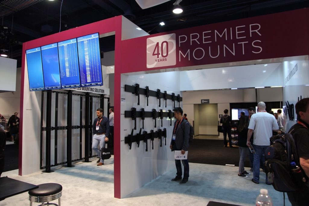 Premier mounts at DSE